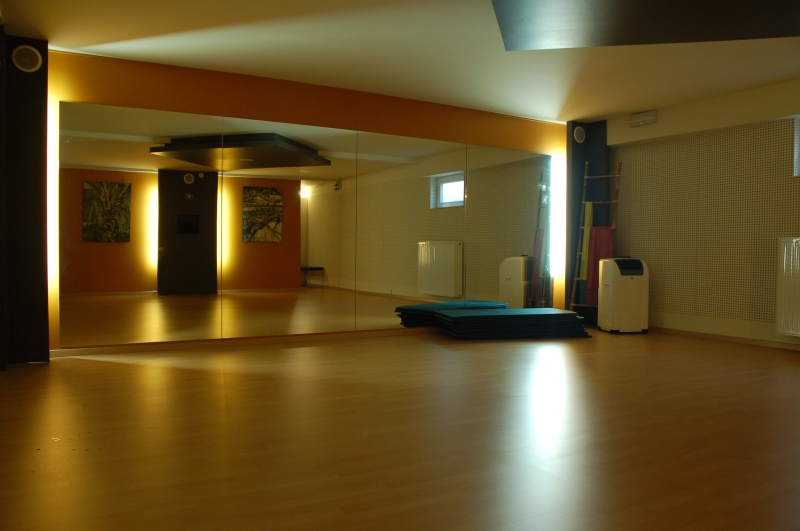 Transformation d un garage en salle de fitness okdo